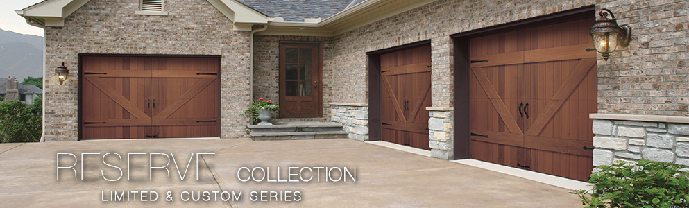 Custom wooden garage doors Los Angeles